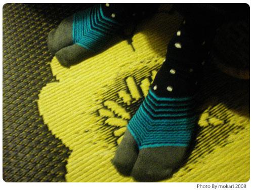 20081004-5 SOU・SOU(そう・そう)の足袋下を2足購入。