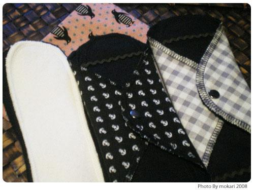 20081228 雑貨屋ieのオリジナル布ナプキンの紹介