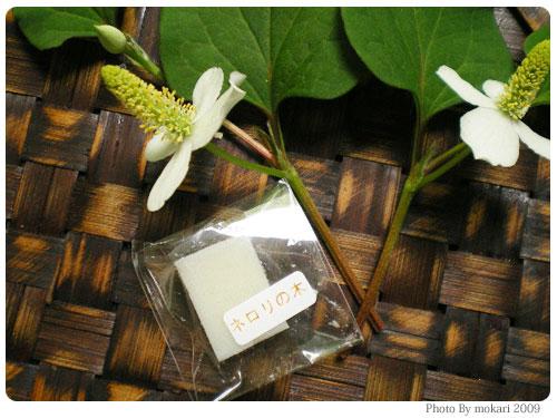 20090604-5 フルフリフリフラ、ショップのやさしいノリにほんわか。手作り化粧品初挑戦。