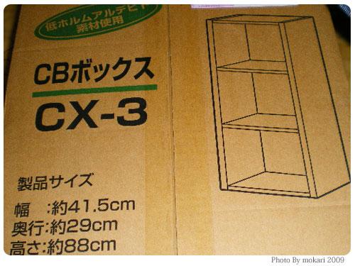 20090811-3 第1回「カラーボックスで手作りDIYに挑戦」わたしが買ったもの