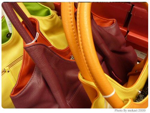20091019-11 ANITA ARENBERG「サイドギャザー入りショルダーバッグ」さわり心地と丈夫さは?