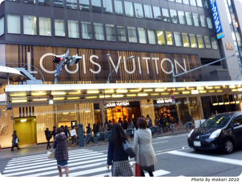 20100111-16 京都のLouisVuittonストアの外観がふしぎ