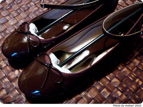 20101124 ベルメゾンのセールで、ベネビスの靴をはじめて買ってみた