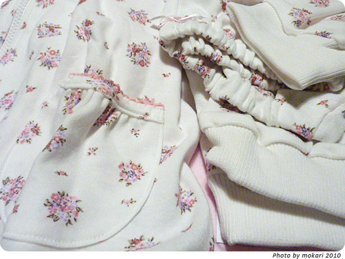 20101219-2 ベルメゾン暮らす服の子ども用パジャマセット
