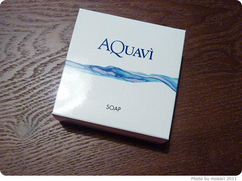 20110522-9 環境を考えた洗顔石鹸アクアヴィ(AQUAVI)ソープ。開発者は地球のお医者さん