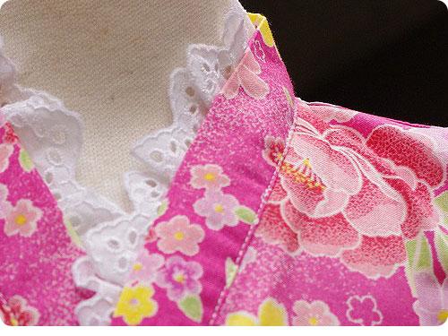 20110525-3 娘たちを熱狂させそうな、子ども用のフリフリ浴衣