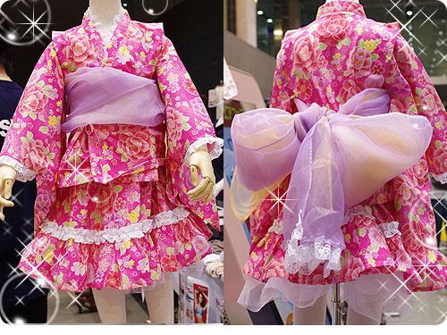 20110525-5 娘たちを熱狂させそうな、子ども用のフリフリ浴衣