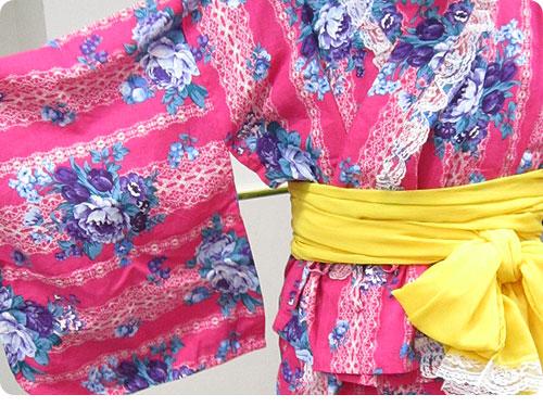 20110705-1 もっといろんな柄があればいいのに。ワンピースにもなる浴衣風ドレス