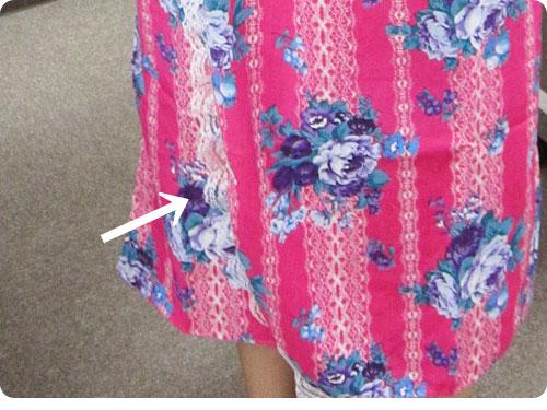 20110705-4 もっといろんな柄があればいいのに。ワンピースにもなる浴衣風ドレス