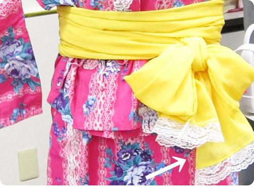 20110705-5 もっといろんな柄があればいいのに。ワンピースにもなる浴衣風ドレス