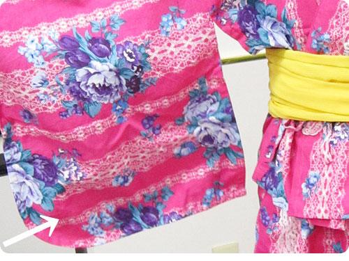 20110705-7 もっといろんな柄があればいいのに。ワンピースにもなる浴衣風ドレス