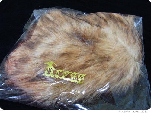 20111215-9 モバコレのセールで買ったもの。モバコレ初利用。エヴァ初号機トレンカ欲しかった