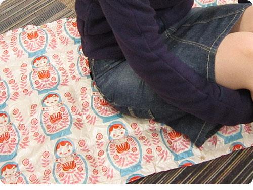 20111219-18 これは、温かい!ベルメゾン「ウオッシャブルダウンケット」