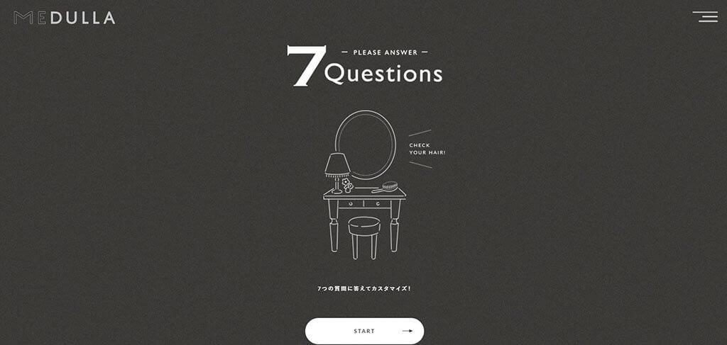 MEDULLAの7つの質問