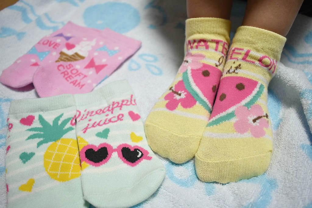 5歳が気に入った靴下のデザイン
