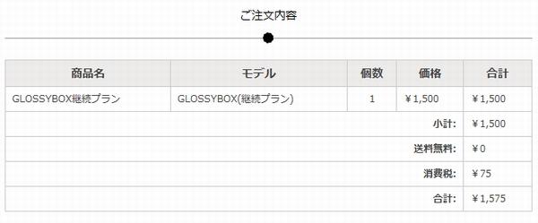 P001052 遂に日本上陸したGlossyBox(グロッシーボックス)の有料会員登録してみた。コスメ好きなので
