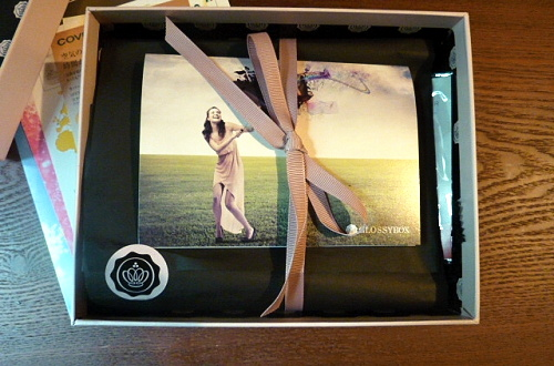 P1150336 グロッシーボックス2012年6月BOXが届きました
