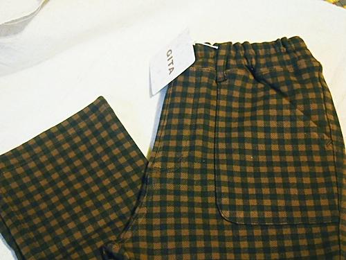 P2202958 【キッズ女子】ベルメゾンのジータの長ズボンのポッケがハートでかわいいよ