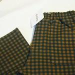 ベルメゾンの子供服ジータの長ズボンのポッケがハートでかわいい