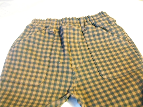 P2202961 【キッズ女子】ベルメゾンのジータの長ズボンのポッケがハートでかわいいよ
