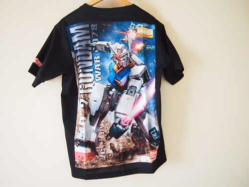 P3234337 ガンプラパッケージをTシャツにするサービス「ガンプリ」どうですか
