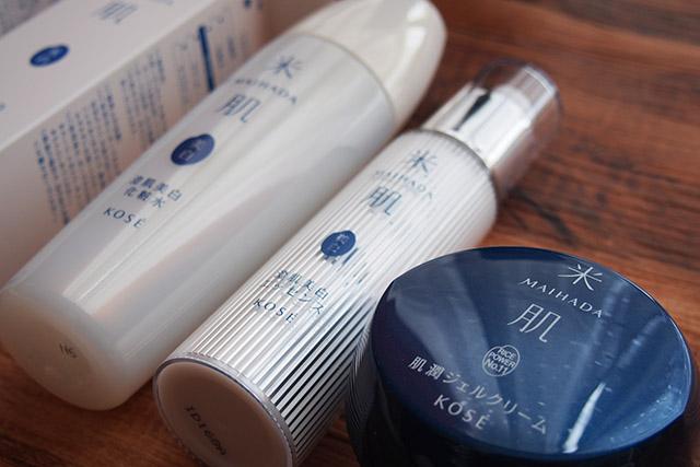 米肌 澄肌の化粧品
