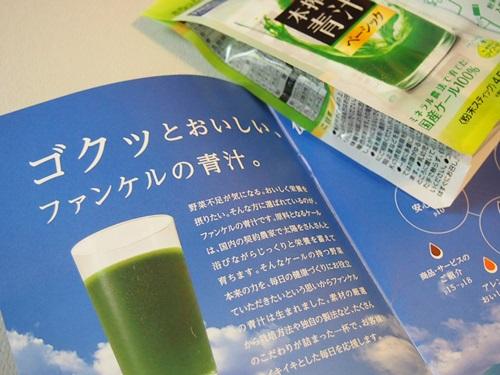 P6016515 ケールファンケルの青汁