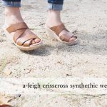 a-leigh crisscross synthethic wedge wの履き心地は?