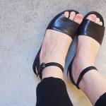 クロックスのウェッジサンダルの感想 ヒール6.5cmでも負担に感じさせない/Leigh-Ann Ankle Strap Leather 2017SS
