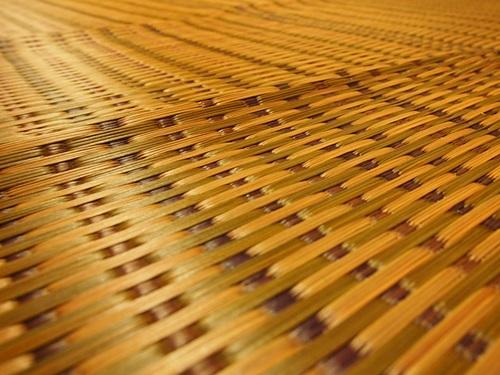 P7257475 楽天市場「家具の里」さんで購入した国産い草ラグのハーバスが届く