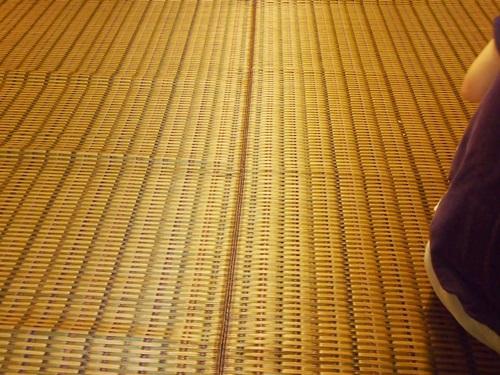 P7257478 楽天市場「家具の里」さんで購入した国産い草ラグのハーバスが届く