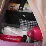 子連れ旅行はリュックがいい。しかもリュック専用バッグインバッグもある