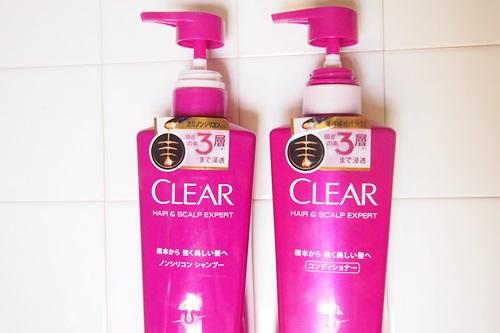 CLEAR(クリア)シャンプーパッケージ