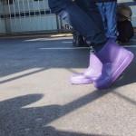 crocs Colorlite boot wとパンツスタイルのコーデ