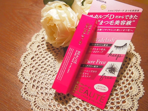 PC050655 【まつ毛美容液】スカルプD ボーテ ピュアフリーアイラッシュの感想
