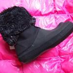 クロックスのブーツ(20cm)を娘に履いてもらいたくて