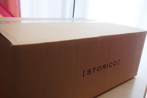 STORICO(ストリコ)が届く