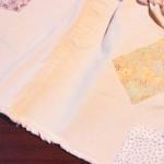 韓国子供服:Amberのデニムミニ、かわいいよ♪