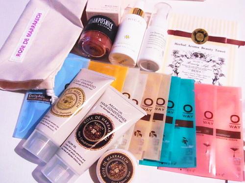 R1155741 グロッシーボックス2012年7月BOXが届きました(WWD Beauty BOX)