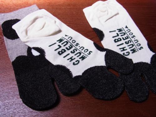 R1157229 ジブリ美術館でSOUSOUとジブリがコラボした足袋下を買ってきた