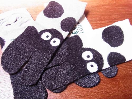 R1157230 ジブリ美術館でSOUSOUとジブリがコラボした足袋下を買ってきた
