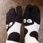 ジブリ美術館でSOUSOUとジブリがコラボした足袋下を買ってきた