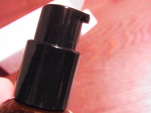 R1157349 キールズの美容液 プッシュ式ボトルのロックの外し方