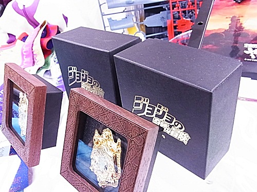 R1158757 ジョジョの奇妙な冒険 原画展記念 エンブレムブローチ (額縁付)